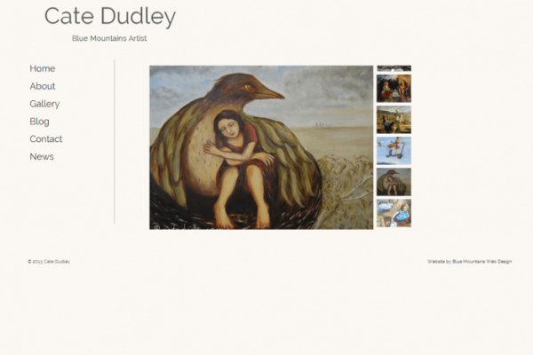 Cate Dudley Website